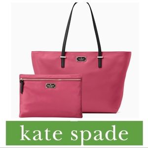 NEW KATE SPADE Wilson Road Magenta & Large  Drewe